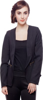 Hermosear Solid Tuxedo Style Formal Women's Blazer