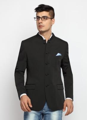 SUITLTD Solid Mandarin Casual Men's Blazer