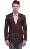 Jogur Checkered Mandarin Casual Men's Bl...