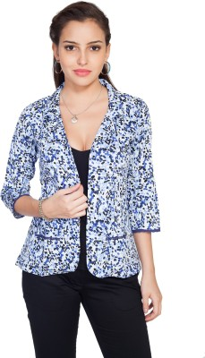 SOIE Embellished Single Breasted Casual Women's Blazer