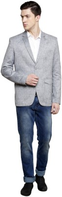Richard Cole Solid Single Breasted Casual, Party, Formal Men's Blazer