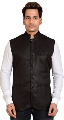 Trustedsnap Solid Single Breasted Party Men's Blazer