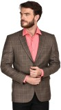 LaMode Checkered Single Breasted Formal ...