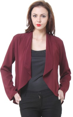 Purys Solid Mandarin Formal Women's Blazer