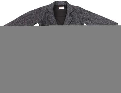 Fbbic Solid Single Breasted Casual Boy's Blazer