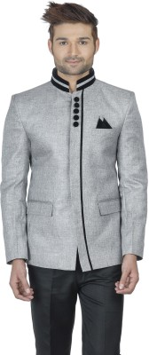 Wintage Solid Single Breasted Party Men,s Blazer