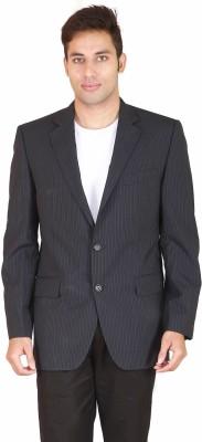 Rhydon Striped Single Breasted Formal Men's Blazer