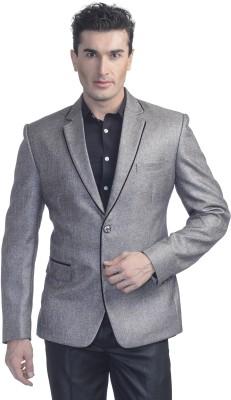 Luxurazi Solid Single Breasted Party Men's Blazer
