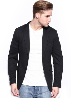 Bregeo Fashion Solid Single Breasted Party, Casual, Festive, Wedding Men's Blazer