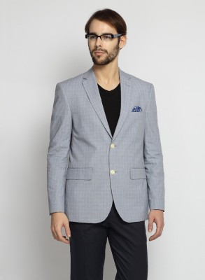 Suit Ltd Checkered Single Breasted Casual Men's Blazer