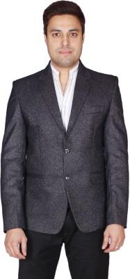 Shaurya-F Solid Single Breasted Casual Men's Blazer