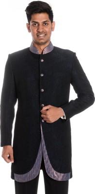 Idlindia Self Design Single Breasted Lounge Wear, Party Men's Blazer