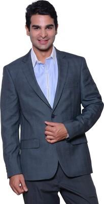 Astitva Checkered Single Breasted Formal Men's Blazer