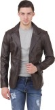 Casabella Solid Single Breasted Casual M...