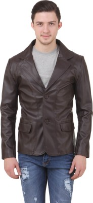 Casabella Solid Single Breasted Festive Men's Blazer