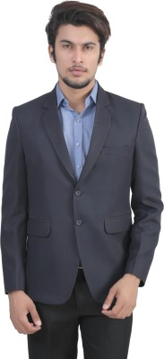 7 Fashions Colors Solid Single Breasted Casual Men's Blazer