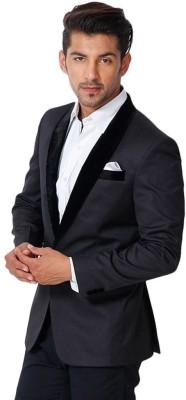 BELARIO Solid Tuxedo Style Wedding, Casual, Party Men,s, Boy's Blazer