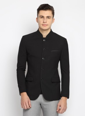 Suit Ltd Solid Mandarin Formal Men's Blazer