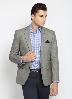 Suit Ltd Woven Single Breasted Party Men's Blazer