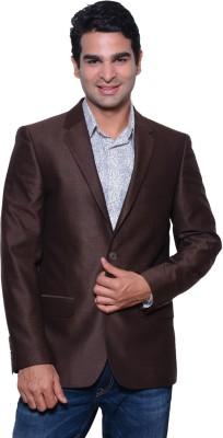 Astitva Solid Single Breasted Formal Men's Blazer