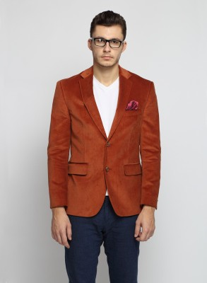 Suit Ltd Woven Single Breasted Casual Men's Blazer