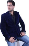Intrend Solid Single Breasted Formal Men...
