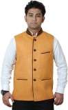 GetAbhi Solid Single Breasted Casual, Pa...
