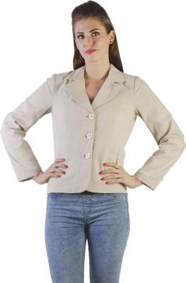 Ladybug Solid Single Breasted Casual Women's Blazer