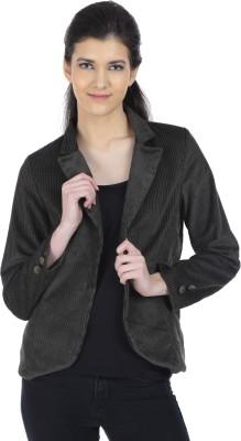 Doya Milan Harringbone Single Breasted Party Women's Blazer