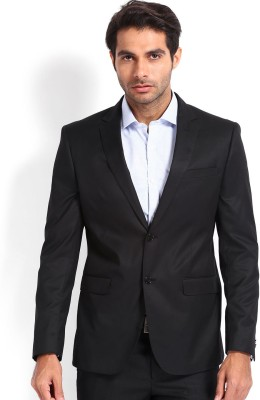 Protext Premium Solid Single Breasted Formal Men's Blazer
