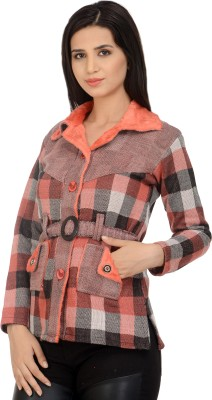 Sanvi Traders Womens Button Cardigan