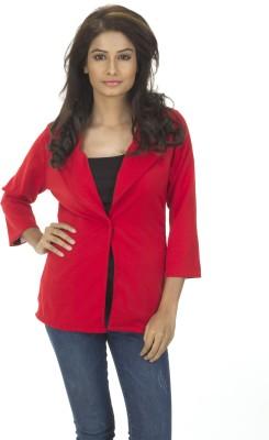 TrendBAE Solid Single Breasted Party Women's Blazer