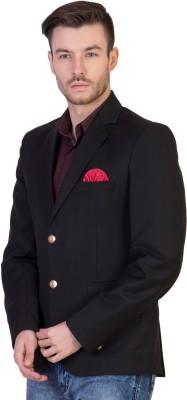 FashionSeva Solid Single Breasted Formal, Casual Men's Blazer