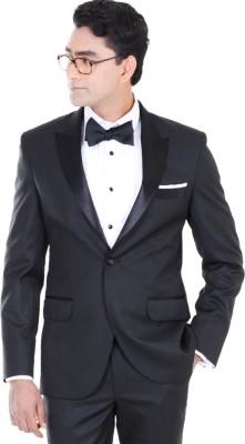 Belario Solid Tuxedo Style Party Men's Blazer