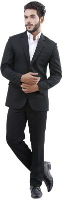 Lamode Solid Single Breasted Formal Men's Blazer
