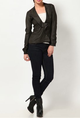 Blacksoul Solid Double Breasted Casual Women's Blazer