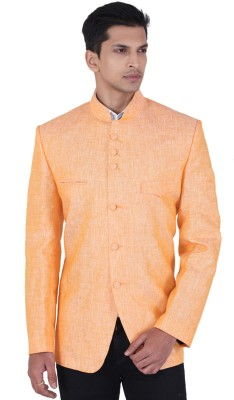 LSD Casuals Solid Single Breasted Party Men's Blazer