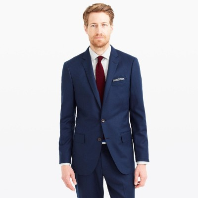 Menjestic Solid Single Breasted Wedding, Formal Men's Blazer