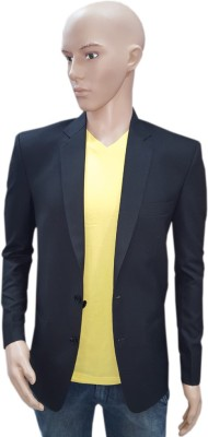 Mahesh Suitwala Solid Single Breasted Formal Men's Blazer