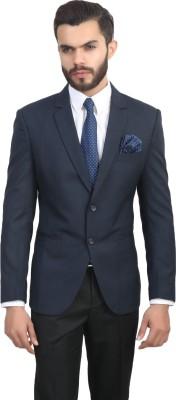 BELARIO Solid Single Breasted Formal, Casual Men's Blazer