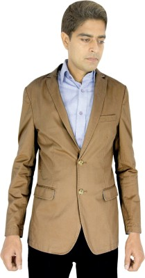 Integration Solid Single Breasted Casual Men's Blazer