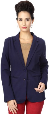 Allen Solly Solid Double Breasted Casual Women's Blazer