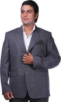 PANACHE Woven Single Breasted Formal Men's Blazer