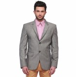 Jogur Solid Single Breasted Casual Men's...