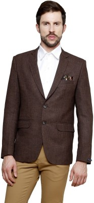 Richard Cole Solid Single Breasted Casual, Formal, Party Men's Blazer