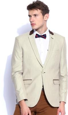 Harvard Woven Single Breasted Casual Men's Blazer