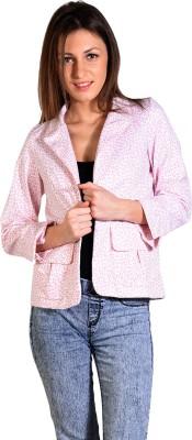 Oshea Animal Print Single Breasted Casual Women's Blazer