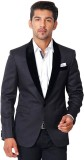 VASTRA Solid Single Breasted Party Men's...