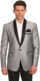 Wintage Solid Single Breasted Party Men'...