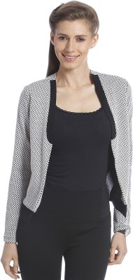Only Self Design Single Breasted Casual Women's Blazer